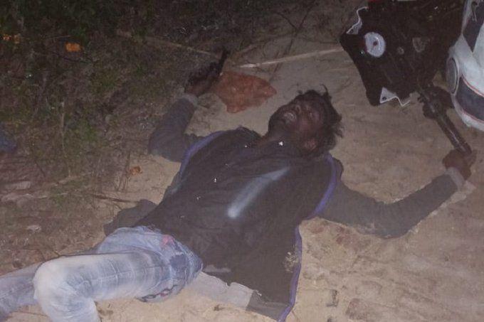 यूपी की कानपुर पुलिस ने मारी रेप के आरोपी के गोली