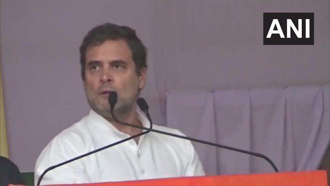 नरेंद्र मोदी मेक इन इंडिया नहीं रेप इन इंडिया बना रहे है - राहुल गाँधी