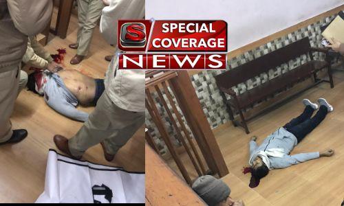 बिजनौर कोर्ट शूटआउट कांड में 18 पुलिस कर्मी सस्पेंड, गोली मारने के बाद आरोपी ने कहा- इंतकाम पूरा हुआ