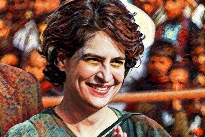 बीजेपी ही नहीं सपा-बसपा के लिए भी बनी चुनौती लखनऊ की ये मुस्कुराती प्रियंका गांधी!