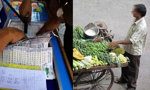 कूड़ेदान की एक पर्ची, और ठेले पर सब्जी बेचने वाला झटके में बना करोड़पति
