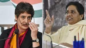 मायावती ने नाम लिये बगैर इस तरह प्रियंका गांधी पर कंसा तंज- राजस्थान गईं लेकिन...
