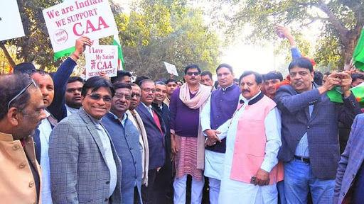 मंत्री जय प्रताप सिंह ने नागरिकता संशोधन अधिनियम के बारे में लोगों को दी जानकारी