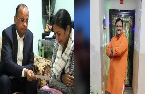 गौरव चंदेल हत्याकांड मामले में मुख्यमंत्री के आदेश पर पीड़ित परिवार को 20 लाख रुपये का चेक सौंपा