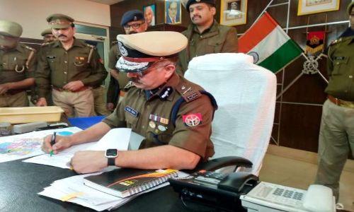 गौतमबुद्ध नगर के पहले पुलिस कमिश्नर बने आलोक सिंह ने संभाला पदभार
