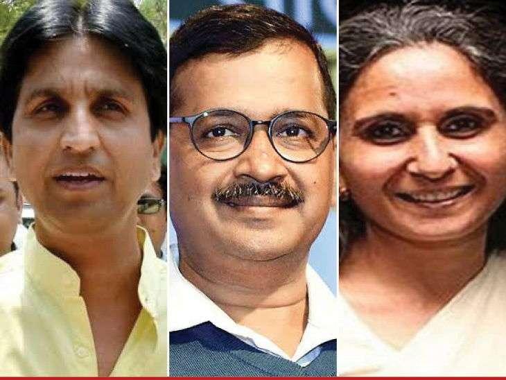 दिल्ली चुनाव: केजरीवाल आज पर्चा भरेंगे, उनके खिलाफ भाजपा से कुमार विश्वास और कांग्रेस से शीला दीक्षित की बेटी को उतारने की चर्चा
