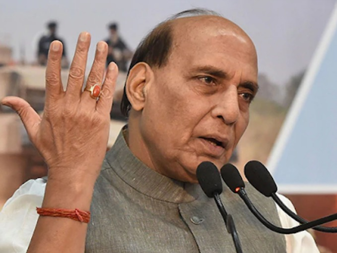 CAA को लेकर राजनाथ ने विरोधियों पर साधा निशाना, बोले- भारत के मुसलमान को कोई चिमटे से भी नहीं छू सकता