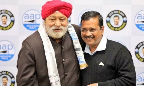 दिल्ली में BJP को झटका, 4 बार विधायक रहे हरशरण सिंह बल्ली AAP में शामिल