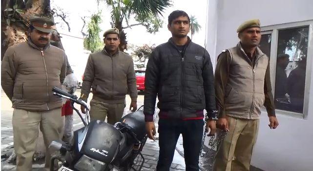शामली : पुलिस मुठभेड़ में 25000 का इनामी गिरफ्तार