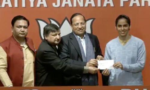 भारत की स्टार बैडमिंटन खिलाड़ी के राजनीतिक कोर्ट मे दिखायेगी अपना जलवा, बीजेपी में हुई शामिल