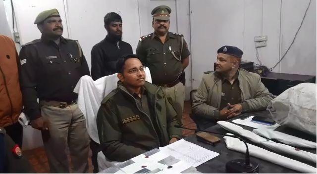 शामली में अवैध असलहा फैक्ट्री का भंडाफोड़, एक गिरफ्तार