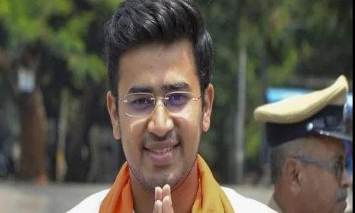 BJP सांसद तेजस्वी सूर्या के बयान से मचा लोकसभा में हंगामा