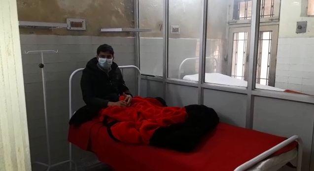 लखीमपुर जिला में कोरोना वायरस से पीड़ित मिला, अस्पताल में भर्ती जांच के लिए लखनऊ भेजा सेम्पल