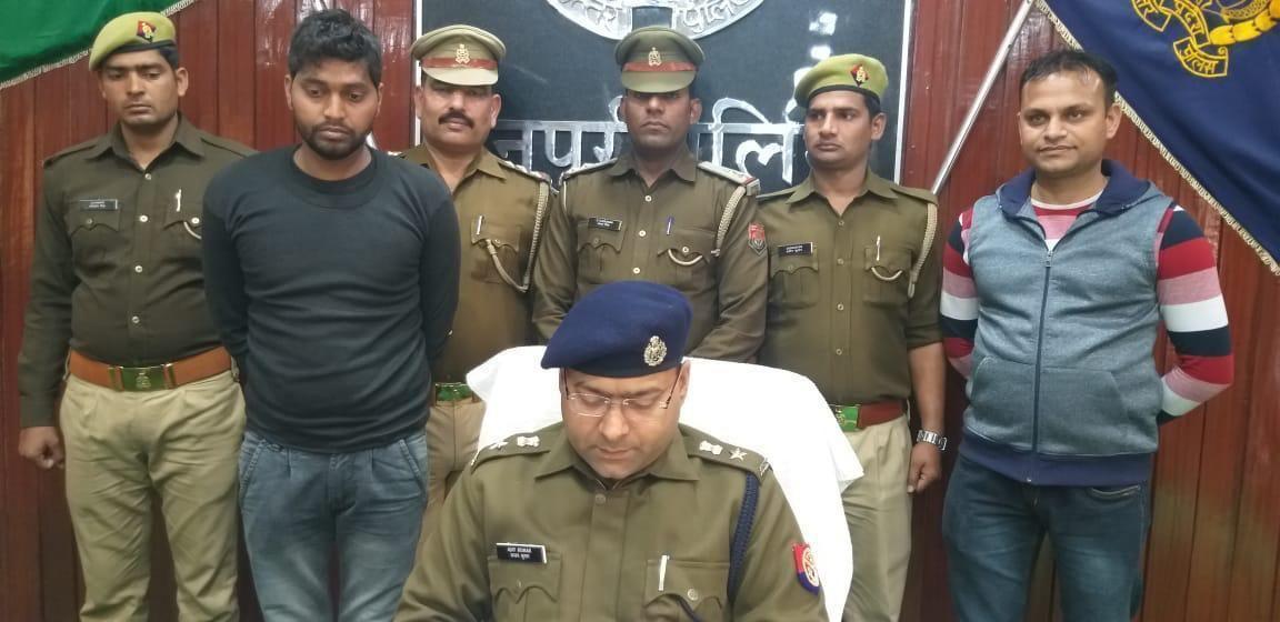 मैनपुरी में हत्या का खुलासा, एसपी ने तत्परता से हत्या की उलझी गुत्थी सुलझी