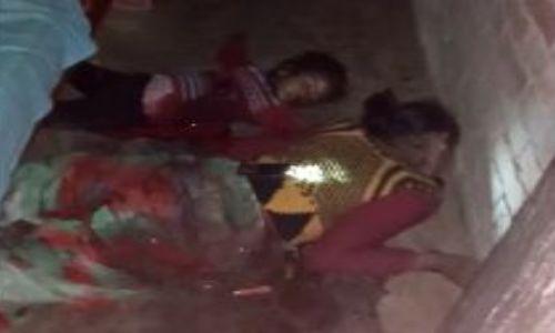 लखीमपुर खीरी : पति ने पत्नी और पांच साल की बच्ची को गोली मारने के साथ धारदार हथियार से काटा