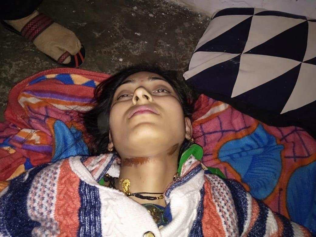 बिजनौर में विवाहिता को मौत के घाट उतारा