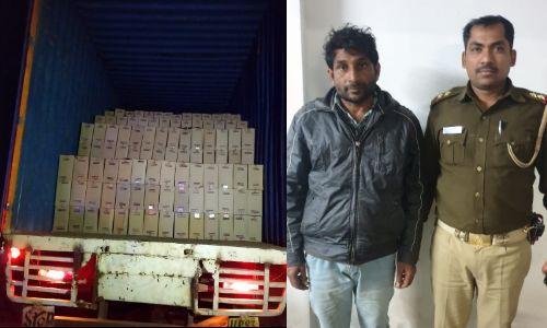 मात्र 12 घंटे में पुलिस ने मुठभेड़ के दौरान पकड़ा शातिर लूटेरा, ब्रिटानिया कंपनी के ट्रक को लूट कर हुआ था फरार