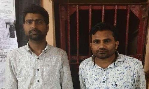 फर्जी आधार कार्ड और पैन कार्ड बनाकर बैंकों से करोड़ों की ठगी करने वाले 2 अभियुक्तों को एसटीएफ ने किया गिरफ्तार