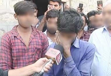 नागौर में दलितों के साथ हुई अमानवीय घटना, पीड़ितों ने रोते रोते बताई ये बात
