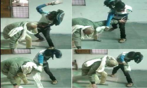यूपी में फिर जूता कांड: हमीरपुर में 12 सेकेंड में तहसील बाबू को चपरासी ने मारे 6 जूते, VIDEO वायरल
