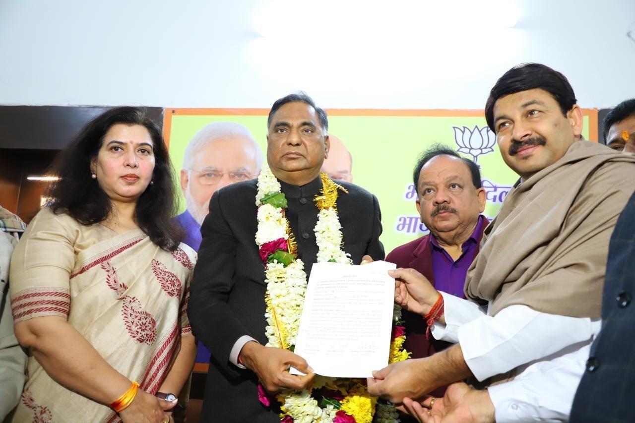 बीजेपी ने बनाया रामवीर विधूड़ी को दिल्ली में नेता प्रतिपक्ष