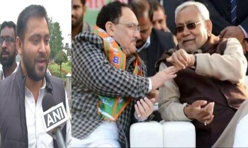 नीतीश के आगे झुकी बीजेपी,CM ने कहां नही लागू होगा बिहार में NRC, तेजस्वी यादव ने सरकार पर कसा तंज