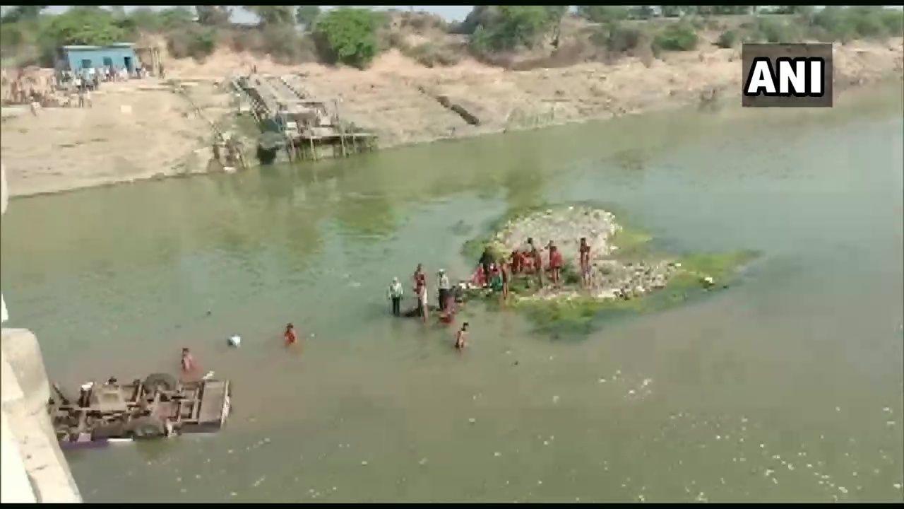 राजस्थान में बड़ा हादसा : बारातियों की बस नदी में गिरी, 24 की मौत 5 घायल