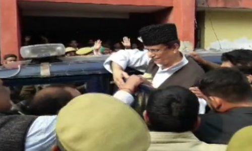 रामपुर आज़म खान बीबी बच्चे समेत जज ने भेजे जेल