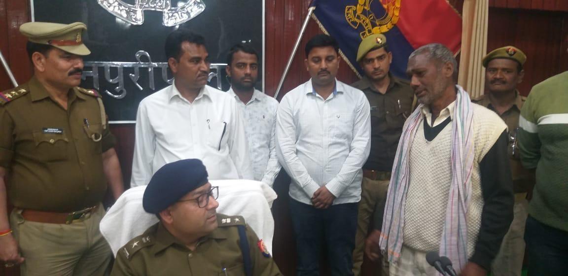 मैनपुरी पुलिस की नशा-विनाश अभियान के तहत बड़ी कार्यवाही, अफ़ीम की खेती का भाण्डाफोड़, नशे का सौदागर गिरफ्तार
