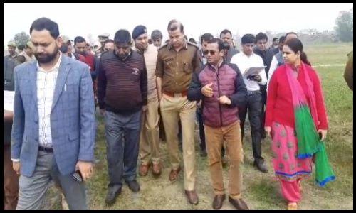 मुख्यमंत्री शामली में करेंगेे पुलिस लाइन का शिलान्यास, प्रस्तावित कार्यक्रम को लेकर अफसरों ने किया दौरा