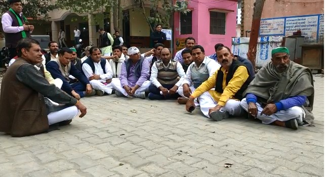 शामली में भारतीय किसान यूनियन के प्रदेश महासचिव के साथ मारपीट