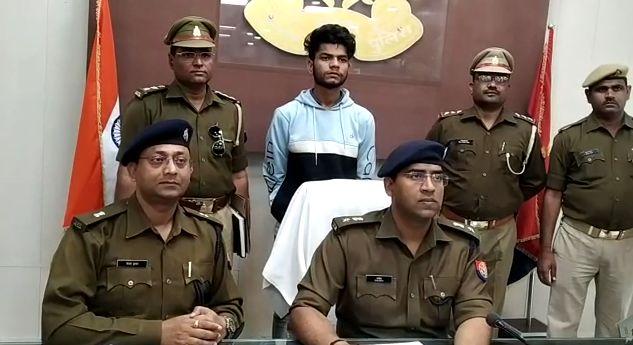 लूट की घटना को अंजाम देने वाला एक बदमाश गिरफ्तार, दो फरार