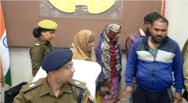 बिजनौर : पुलिस पर हमला करने वाले पांच आरोपी गिरफ्तार