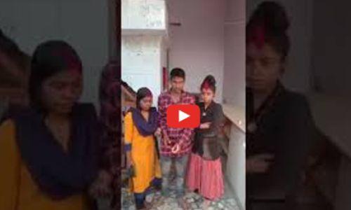 प्रयागराज में प्रेमी ने दो प्रेमिका से मंदिर में रचाई शादी