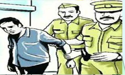 लूट की विभिन्न घटनाओं में वांछित चला 25 हजार रूपये के ईनामी बदमाश को पुलिस ने किया गिरफ्तार