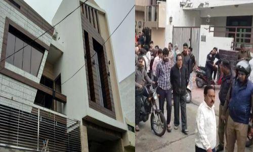 अलीगढ़ में ज्वेलरी व्यापारी को गोली मार हमलावर ने खुद को भी कनपटी में गोली मारी, बड़ी वजह आई सामने