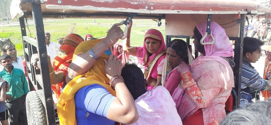 बिजनौर में होली खेलने के बाद बैराज में नहाने गए दो युवक डूबे
