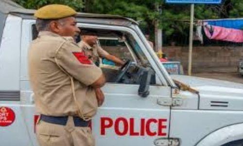 गाजियाबाद पुलिस आज ट्यूमर से पीड़ित मासूम बच्चे के लिए फरिश्ता बनी