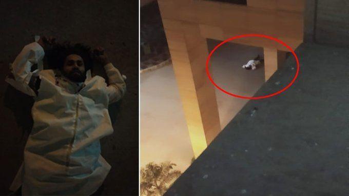 दिल्ली के सफदरजंग अस्पताल की सातवीं मंजिल से कोरोना के संदिग्ध मरीज ने कूदकर खुदकुशी कर ली.
