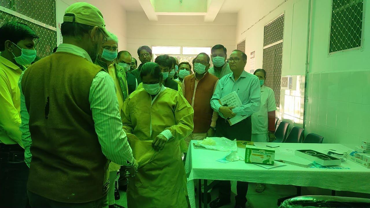बिजनौर: कोरोना वायरस की आशंका में 2 आइसोलेशन वार्ड में भर्ती,1 और मिला