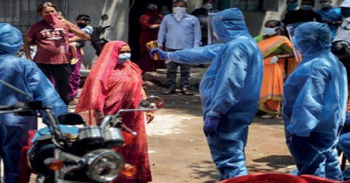 भारत में एक ही बस्ती में कोरोना से पांच मौत के बाद मचा हडकम्प, 43 लोग पॉजिटिव