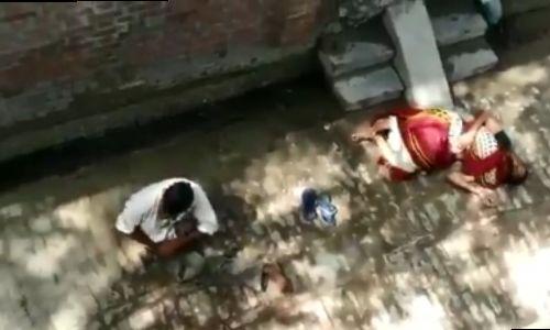 कासगंज में जमीन विवाद में महिला को मारी गोली, महिला की मौत, गोली का वीडियो वायरल