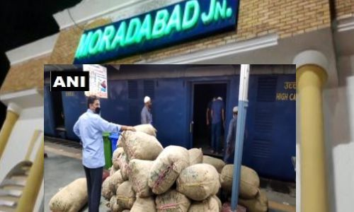 लॉकडाउन में मुरादाबाद के लोग खाते कोलकाता से आई सब्जियां