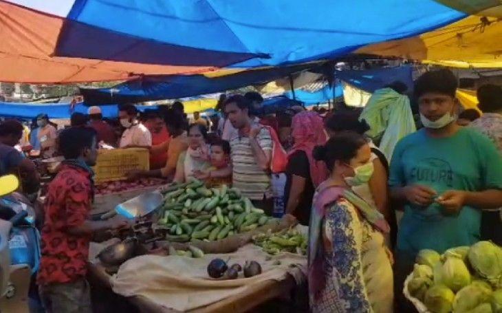 लॉकडाउन: गाजियाबाद में अब सिर्फ इस समय खुलेंगी फल-सब्जी और किराने की दुकानें