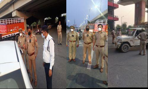 गाजियाबाद में पुलिसकर्मियों को उपलब्ध कराए गए बॉडीवार्न कैमरे