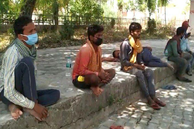 दिल्ली से साइकिल पर सवार होकर बिहार जा रहे मजदूर की शाहजहांपुर में मौत