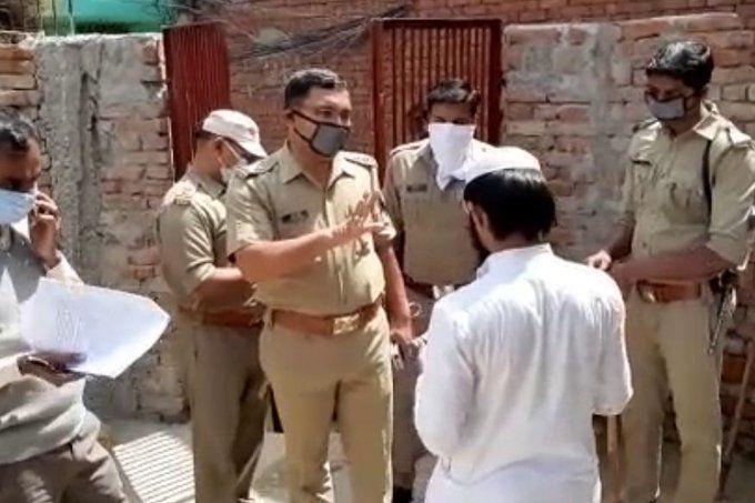 शामली में क्वारंटाइन के बाद 15 जमाती गिरफ्तार, 12 विदेशी नागरिक
