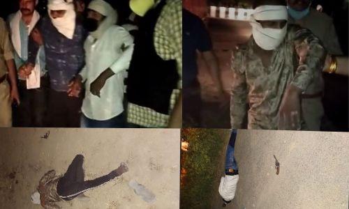 नोएडा पुलिस की बदमाशों से मुठभेड़, मुठभेड के दौरान गोली लगने से तीन बदमाश घायल