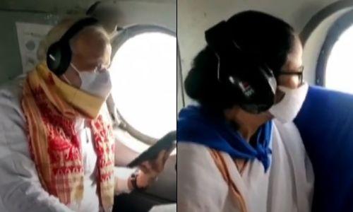 ममता संग पीएम मोदी का हवाई सर्वे जारी, अम्फान से हुई तबाही का ले रहे हैं जायजा..80 लोगों की हुई है मौत