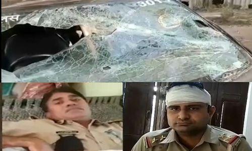 शामली में जिला बदर गोकश को पकड़ने गई पुलिस टीम पर किया सैकड़ों लोगों ने हमला